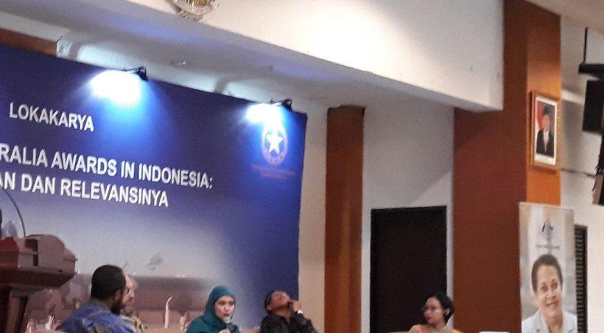 Lokakarya Australia Awards Indonesia