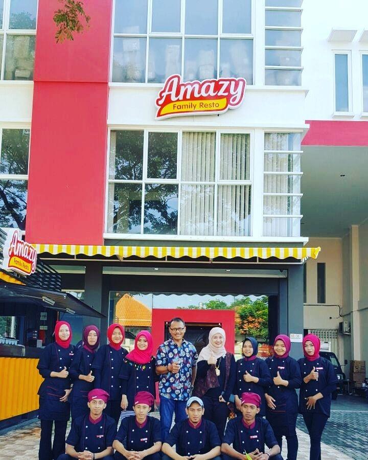 Grand Opening Amazy Resto Jember, Hadirkan Nuansa Cozy Bersantap Bersama Keluarga